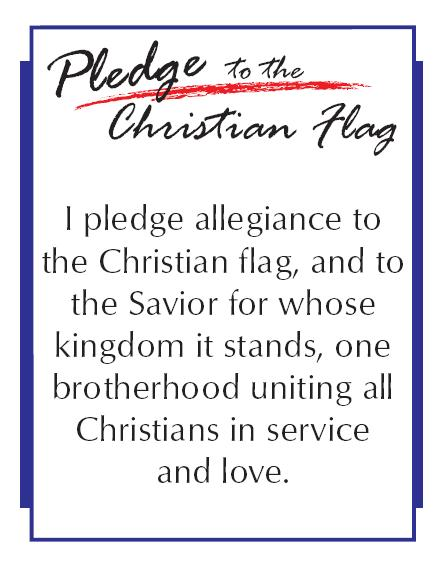 photograph about Pledge to the Bible Printable named Royal Ambadors @ 1st Baptist Church of St. Petersburg, FL